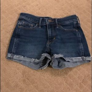 Hollister jean shorts